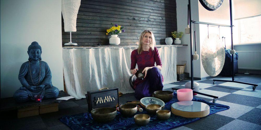 Gongu terapija \ Гонг-терапия ar Mariju Mežecku