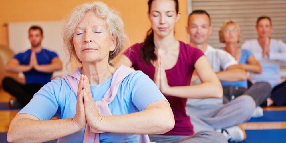 Saudzīgā joga / 50 +